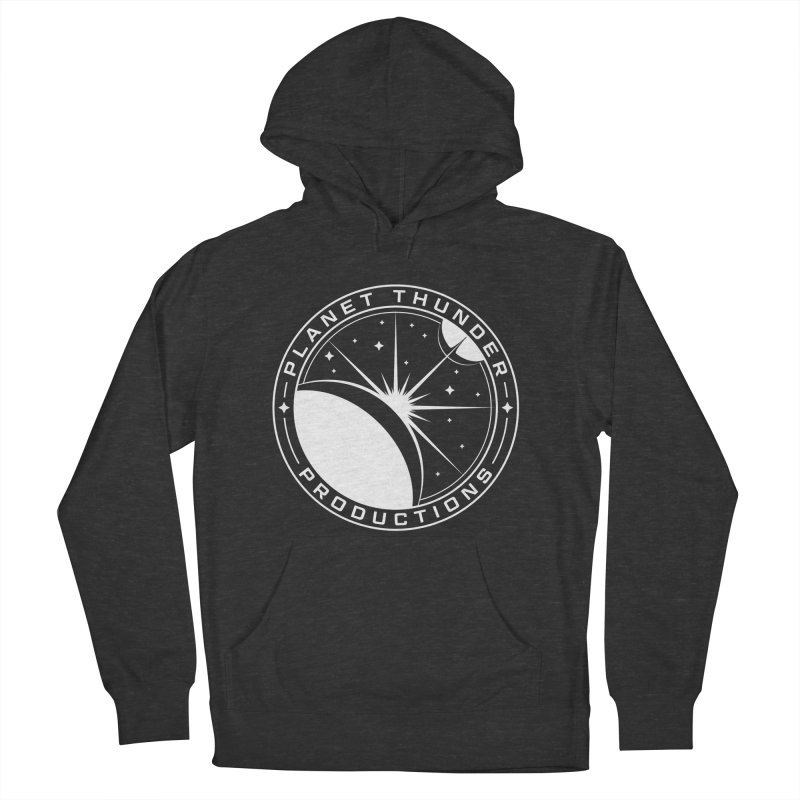 Planet Thunderpatch - WHITE Men's Pullover Hoody by Planet Thunder Shop Stop
