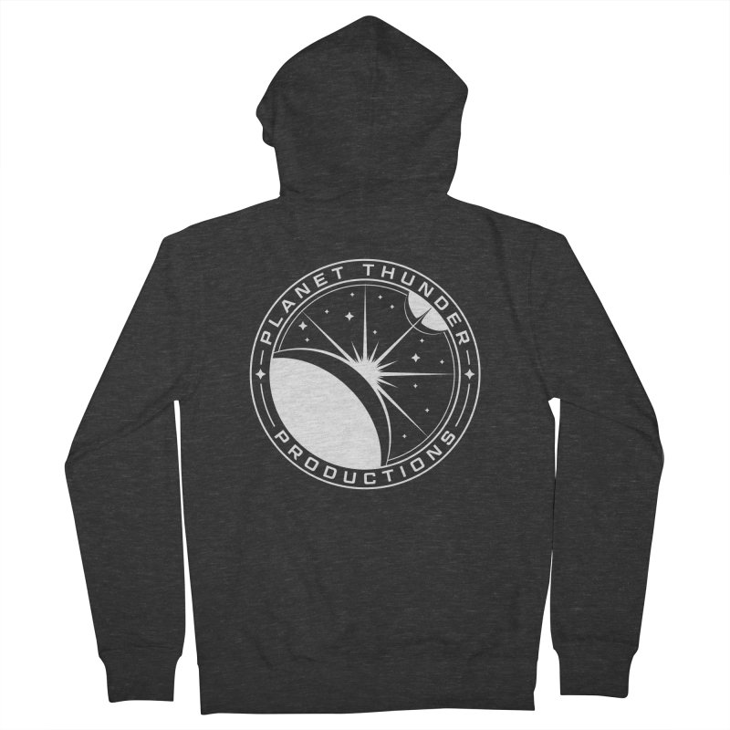 Planet Thunderpatch - WHITE Women's Zip-Up Hoody by Planet Thunder Shop Stop
