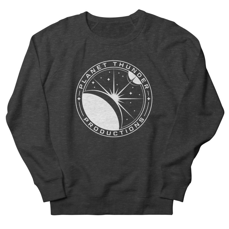 Planet Thunderpatch - WHITE Women's French Terry Sweatshirt by Planet Thunder Shop Stop