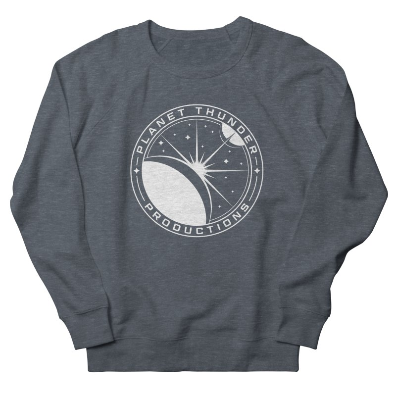 Planet Thunderpatch - WHITE Men's Sweatshirt by Planet Thunder Shop Stop