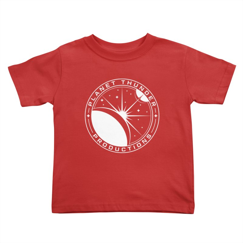 Planet Thunderpatch - WHITE Kids Toddler T-Shirt by Planet Thunder Shop Stop