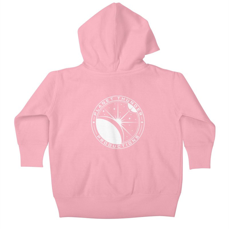 Planet Thunderpatch - WHITE Kids Baby Zip-Up Hoody by Planet Thunder Shop Stop