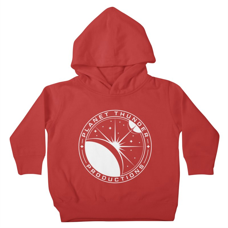 Planet Thunderpatch - WHITE Kids Toddler Pullover Hoody by Planet Thunder Shop Stop