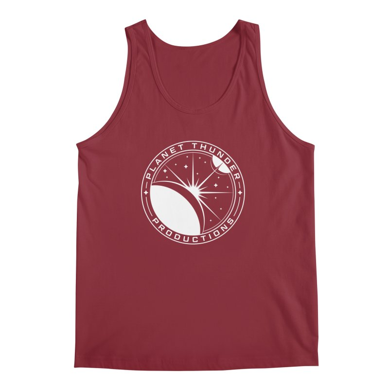Planet Thunderpatch - WHITE Men's Regular Tank by Planet Thunder Shop Stop