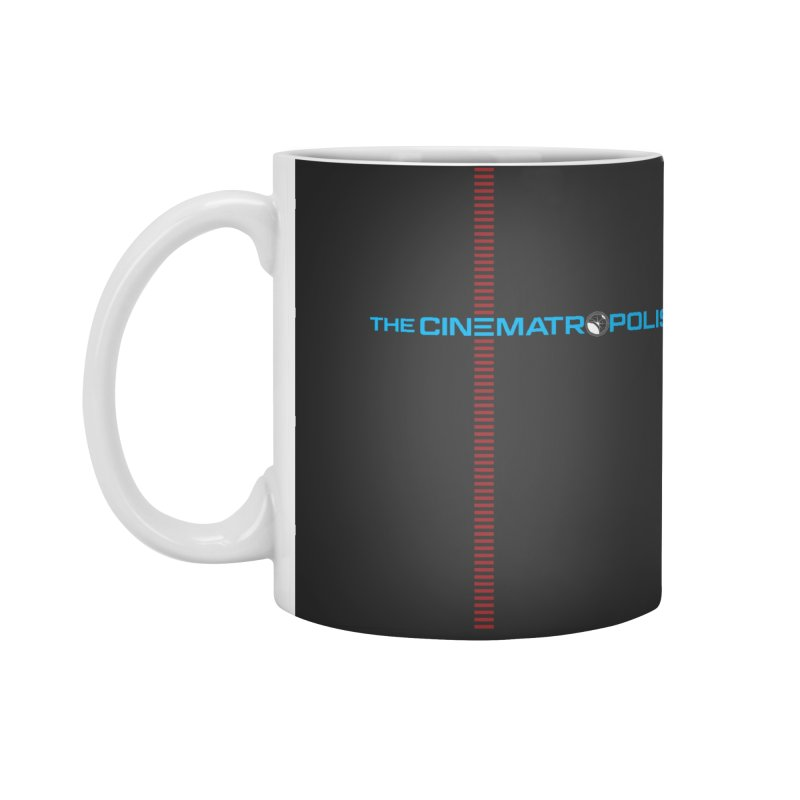 The Cinematropolis DOT COM Accessories Standard Mug by Planet Thunder Shop Stop