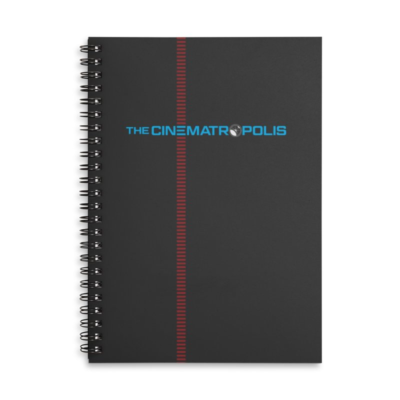The Cinematropolis DOT COM Accessories Lined Spiral Notebook by Planet Thunder Shop Stop
