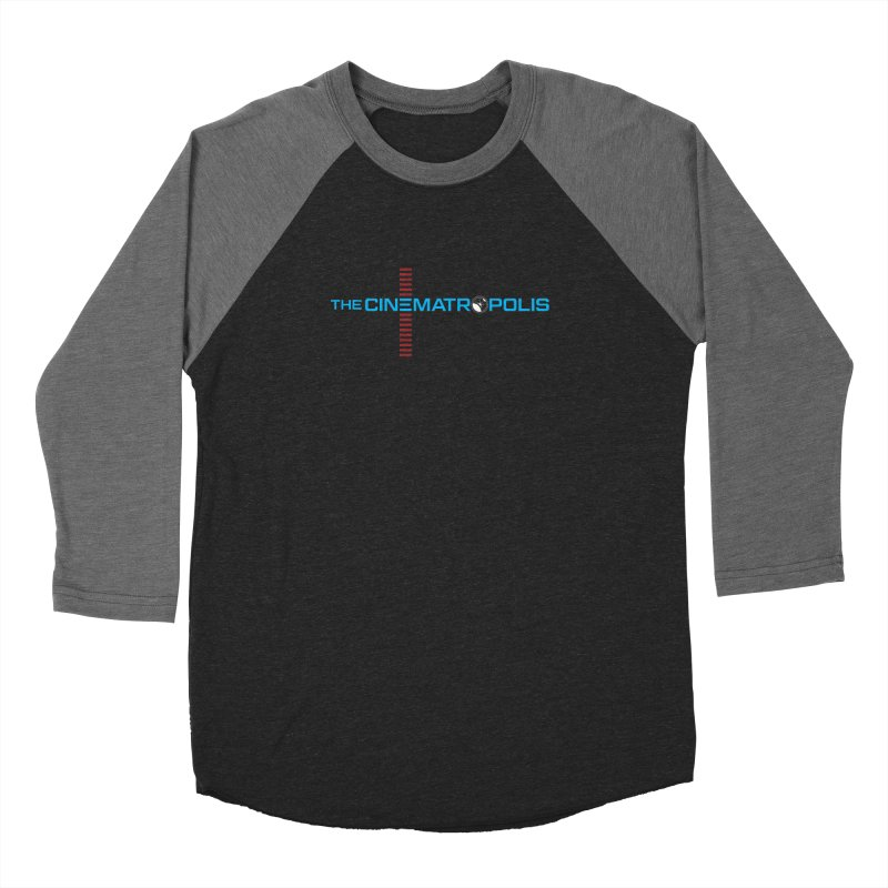 The Cinematropolis DOT COM Men's Baseball Triblend Longsleeve T-Shirt by Planet Thunder Shop Stop