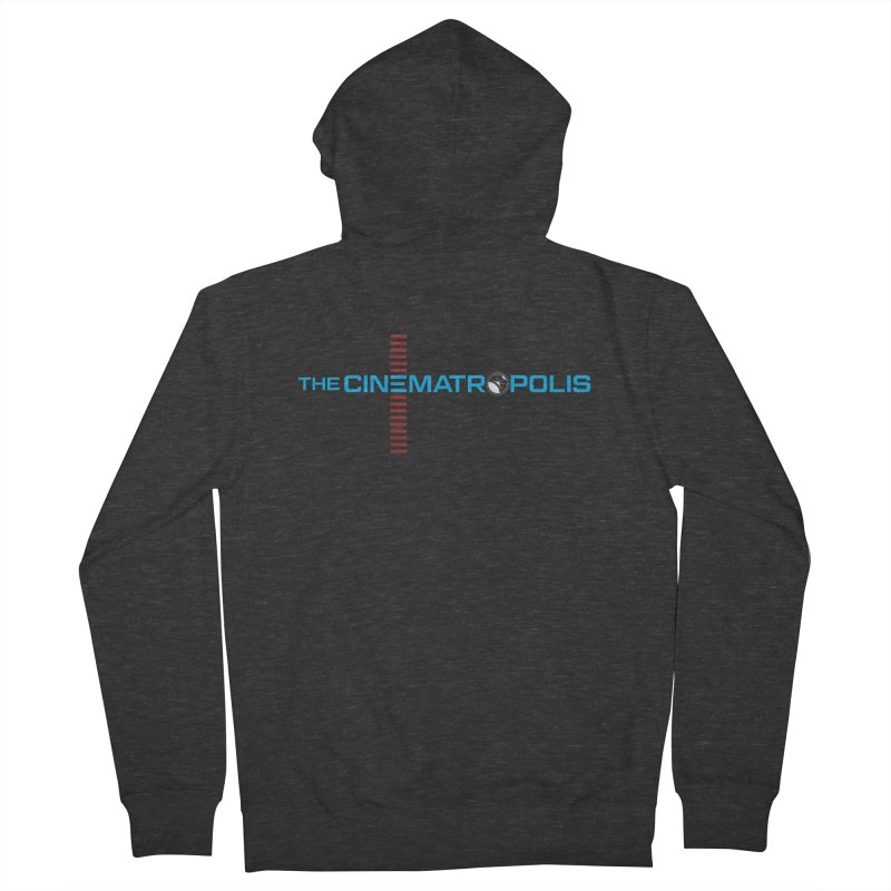 The Cinematropolis DOT COM Men's French Terry Zip-Up Hoody by Planet Thunder Shop Stop
