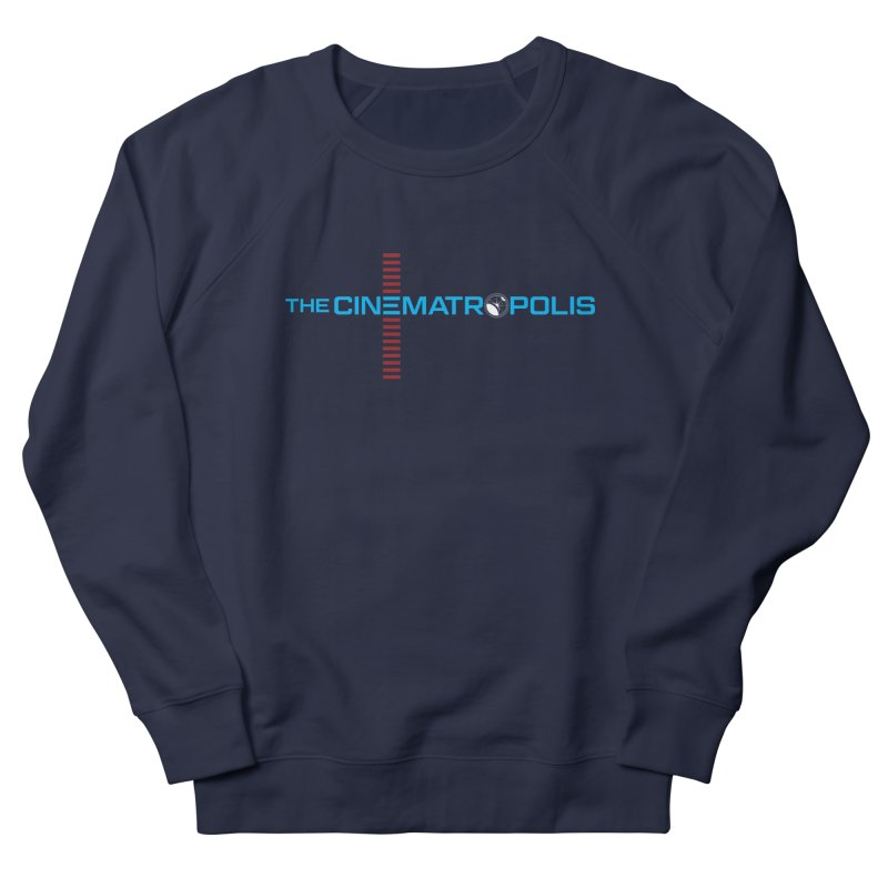 The Cinematropolis DOT COM Women's French Terry Sweatshirt by Planet Thunder Shop Stop