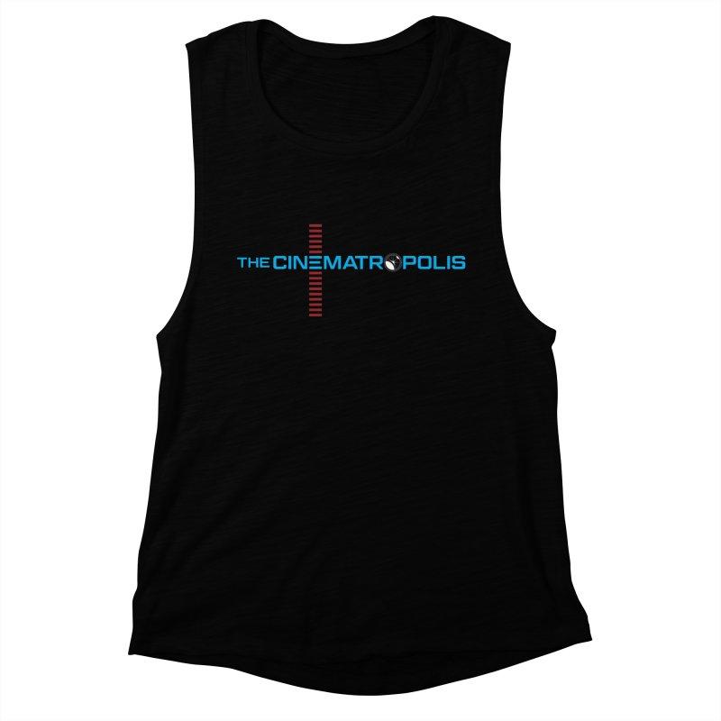 The Cinematropolis DOT COM Women's Muscle Tank by Planet Thunder Shop Stop