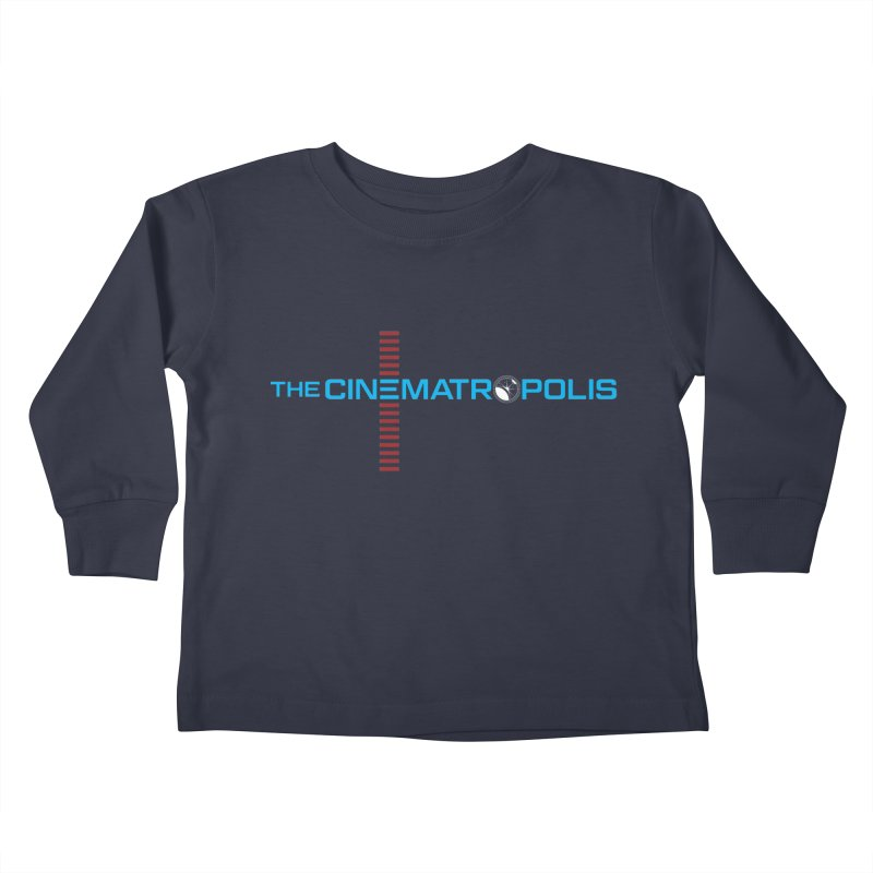 The Cinematropolis DOT COM Kids Toddler Longsleeve T-Shirt by Planet Thunder Shop Stop