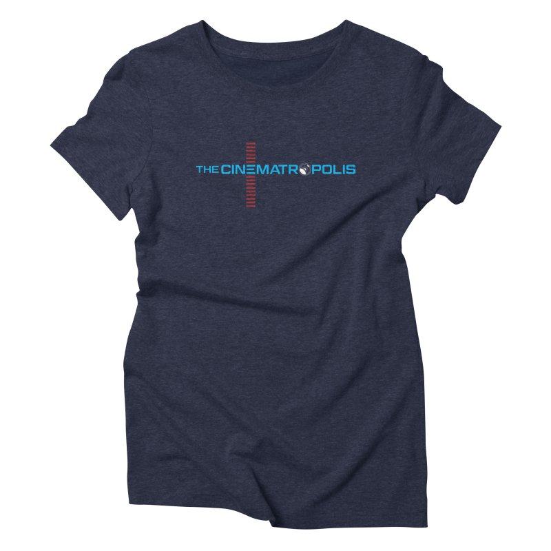 The Cinematropolis DOT COM Women's Triblend T-Shirt by Planet Thunder Shop Stop