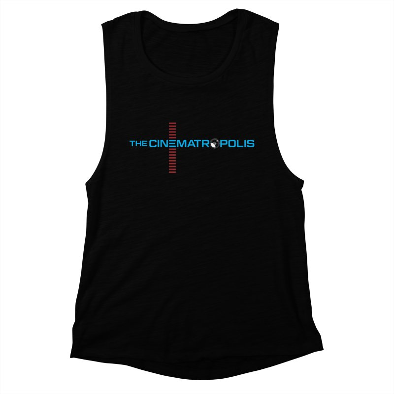 The Cinematropolis DOT COM Women's Muscle Tank by Planet Thunder Shop Stop