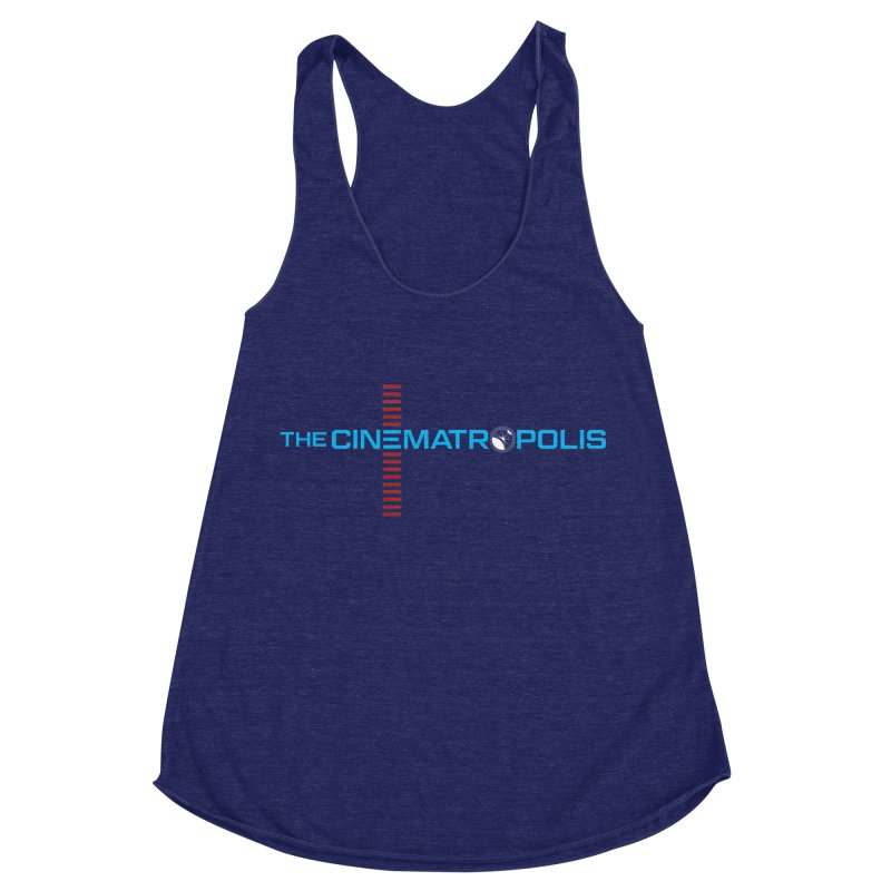 The Cinematropolis DOT COM Women's Racerback Triblend Tank by Planet Thunder Shop Stop