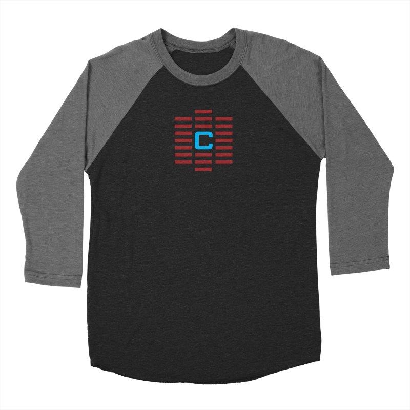 The Cinematropolis C Women's Baseball Triblend Longsleeve T-Shirt by Planet Thunder Shop Stop