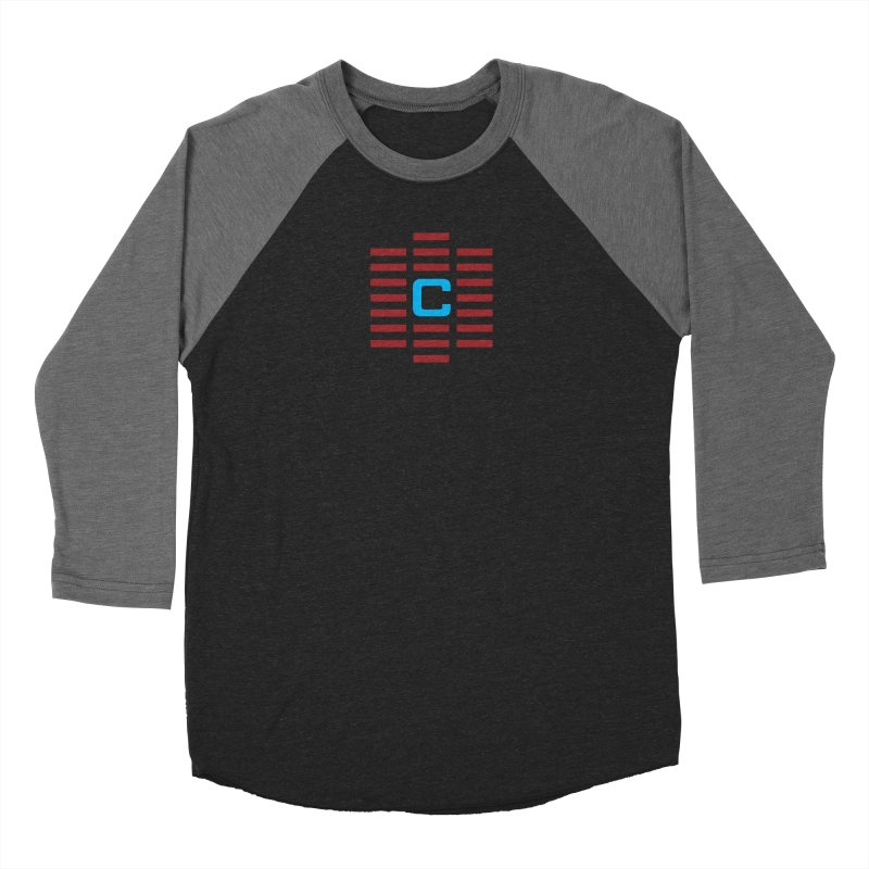 The Cinematropolis C Men's Baseball Triblend Longsleeve T-Shirt by Planet Thunder Shop Stop