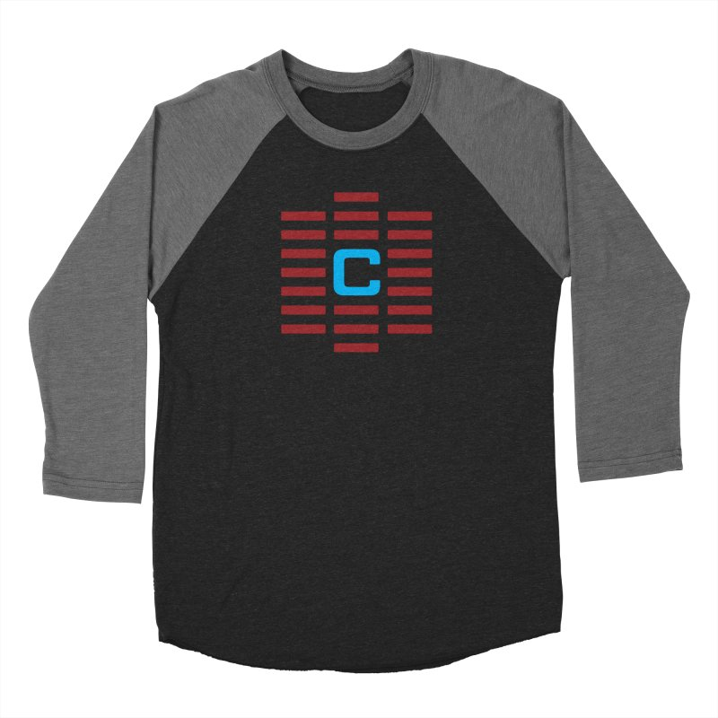 The Cinematropolis C Women's Baseball Triblend Longsleeve T-Shirt by Planet Thunder Shop Stop