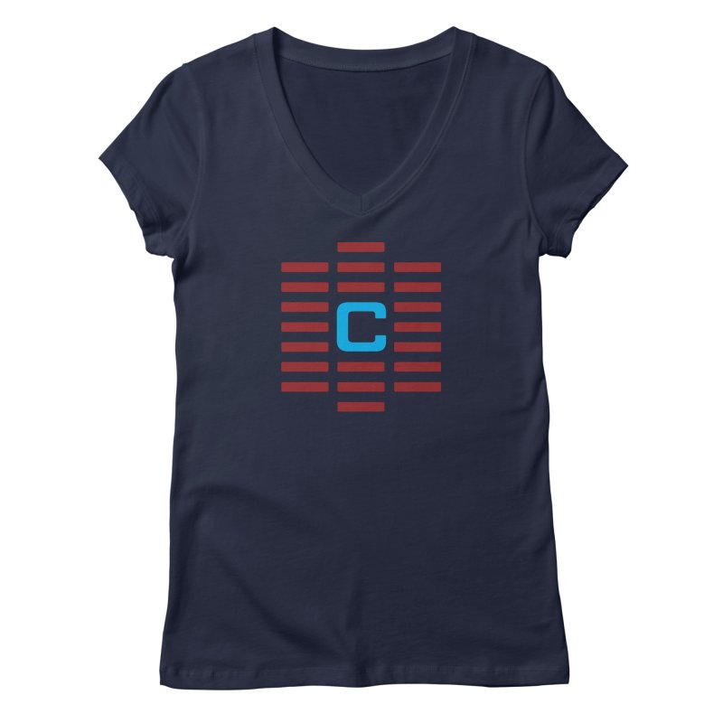 The Cinematropolis C Women's Regular V-Neck by Planet Thunder Shop Stop