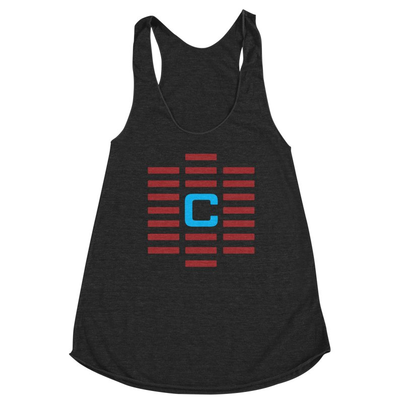 The Cinematropolis C Women's Racerback Triblend Tank by Planet Thunder Shop Stop