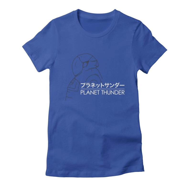 My Neighbor Planet Thunder Women's Fitted T-Shirt by Planet Thunder Shop Stop