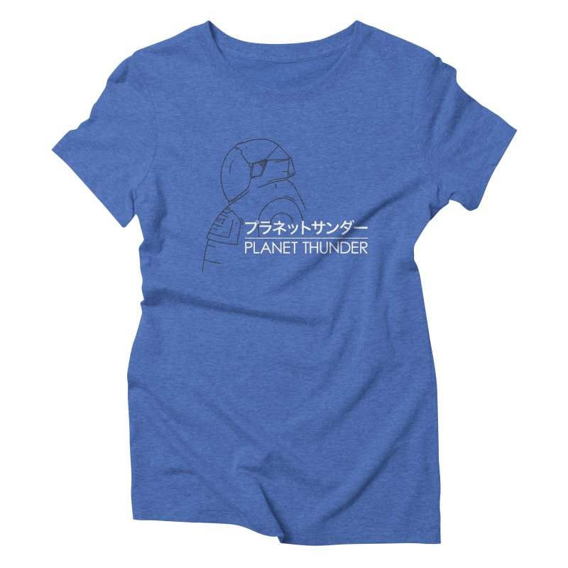 My Neighbor Planet Thunder Women's Triblend T-Shirt by Planet Thunder Shop Stop