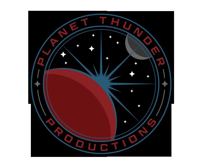 Planet Thunder Shop Stop Logo