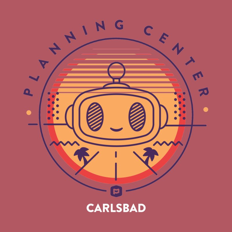 Planning Center Carlsbad No.1 Men's T-Shirt by Planning Center Swag