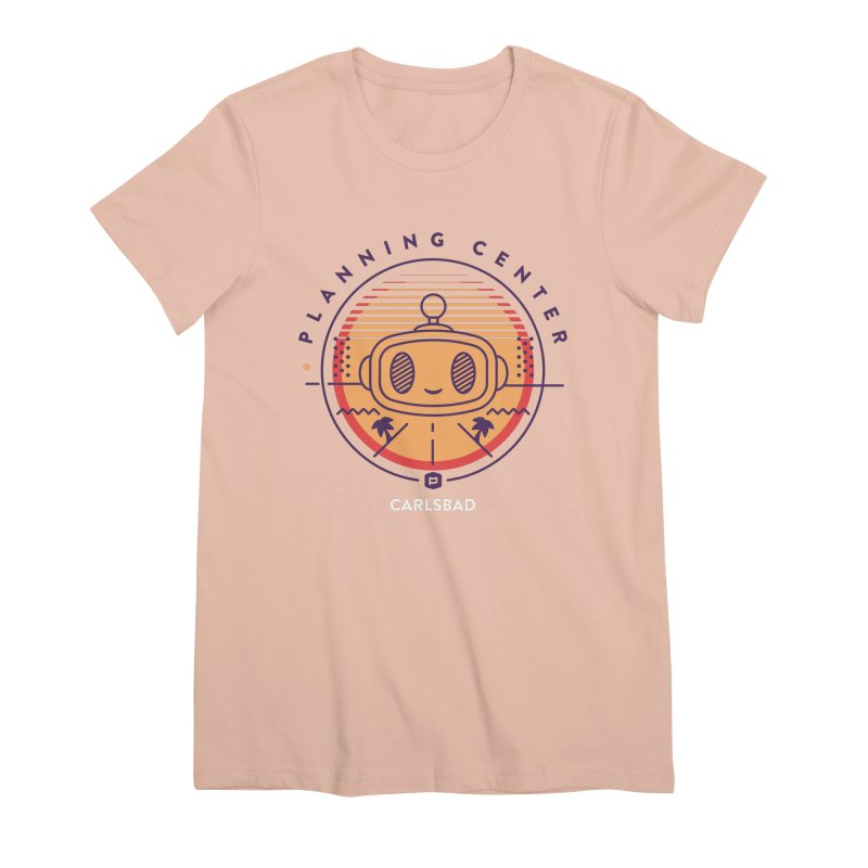 Planning Center Carlsbad No.1 Women's Premium T-Shirt by Planning Center Swag
