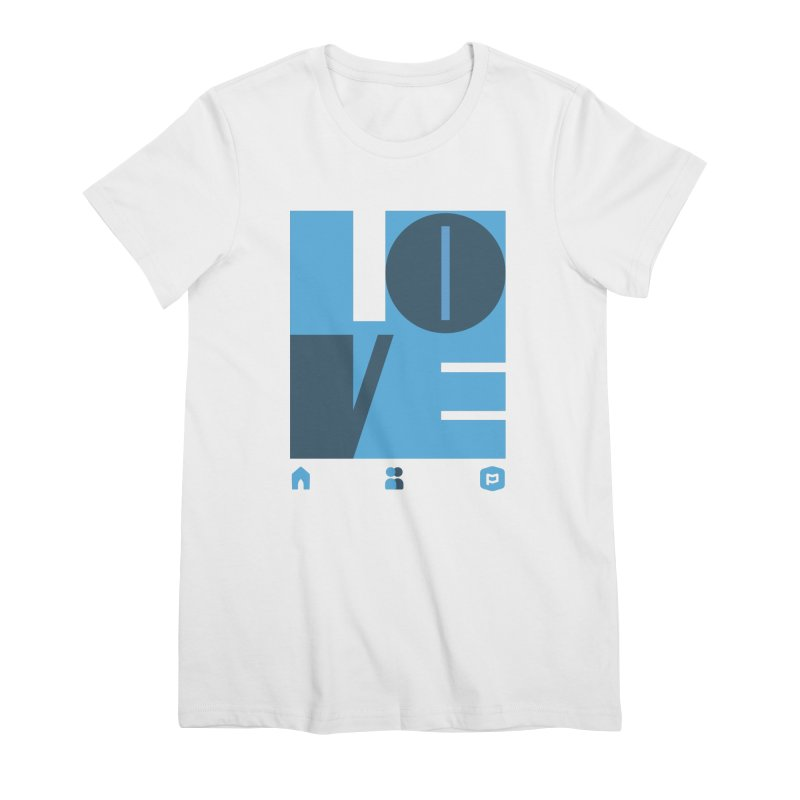 Love No.1 Women's Premium T-Shirt by Planning Center Swag