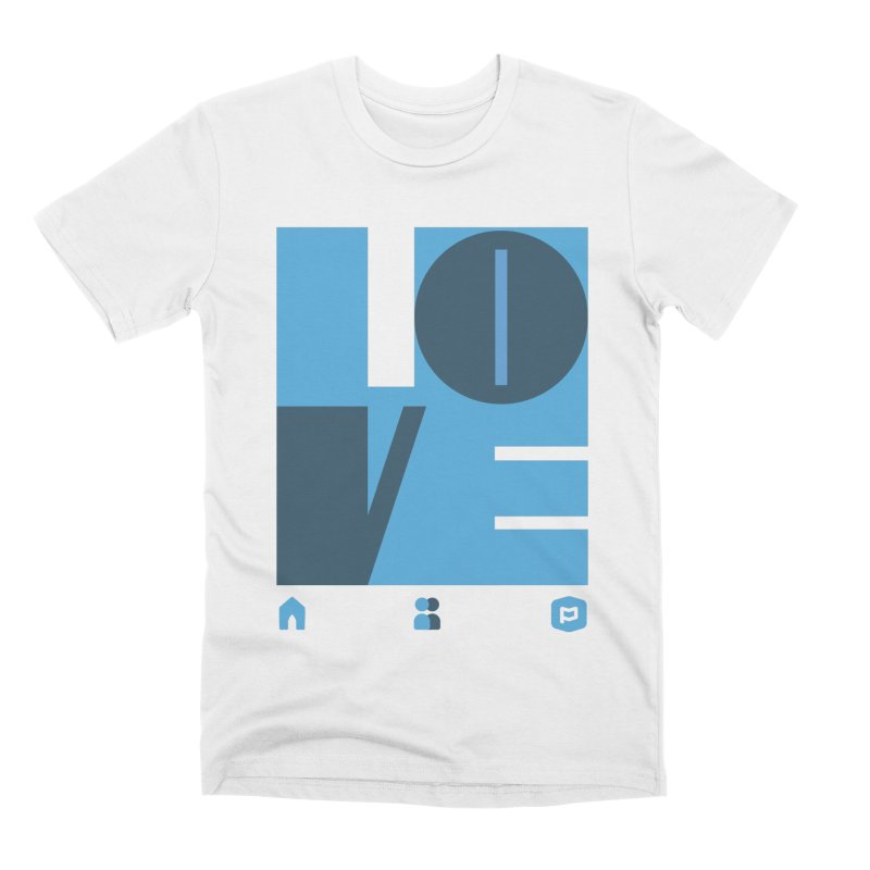 Love No.1 Men's Premium T-Shirt by Planning Center Swag