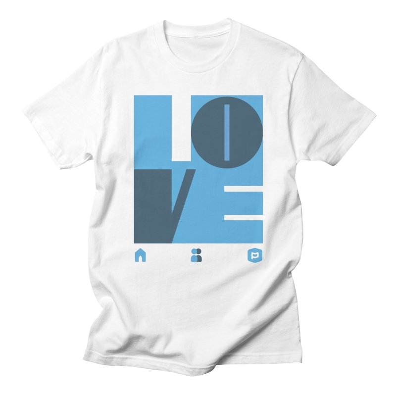 Love No.1 Men's Regular T-Shirt by Planning Center Swag