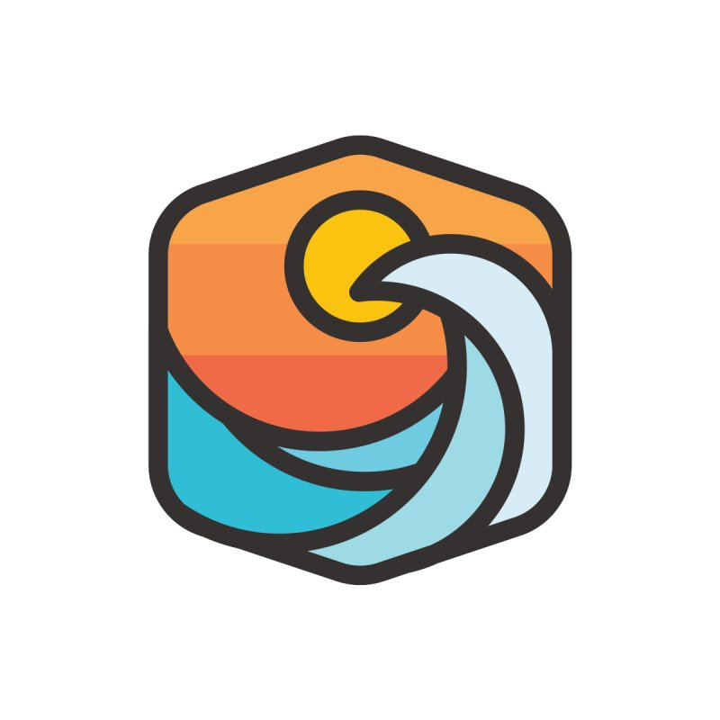 Sunset Wave by Planning Center Swag