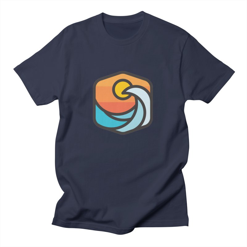 Sunset Wave Men's T-Shirt by Planning Center Swag