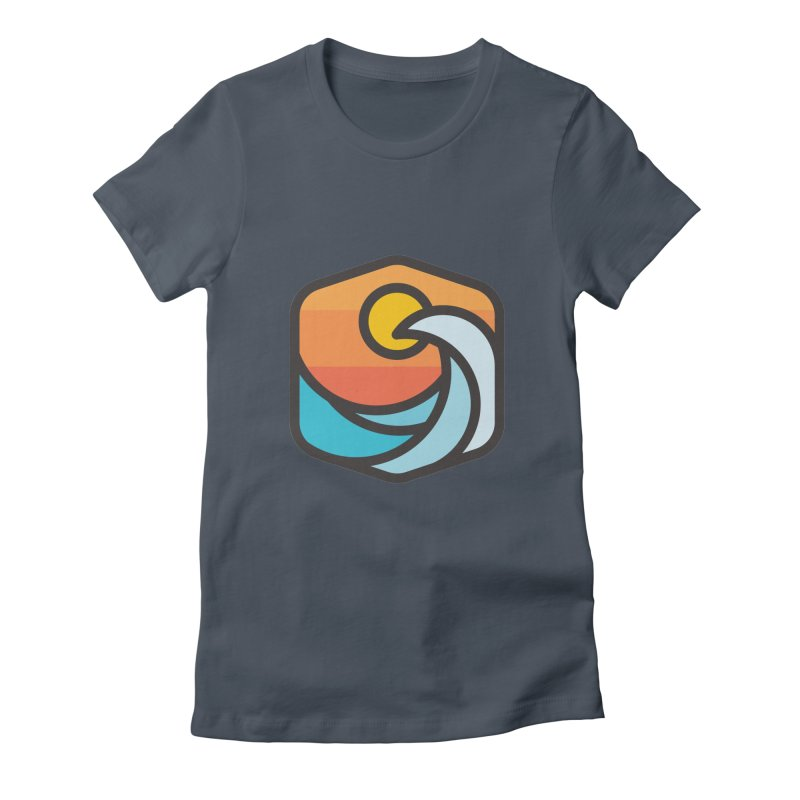 Sunset Wave Women's T-Shirt by Planning Center Swag