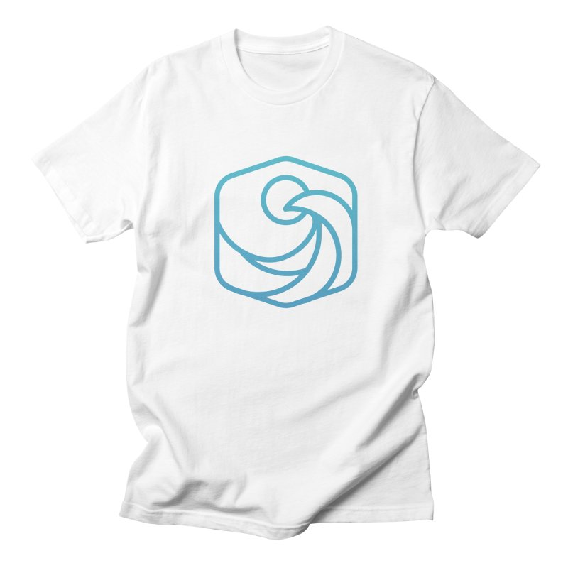 Blue Wave Men's T-Shirt by Planning Center Swag
