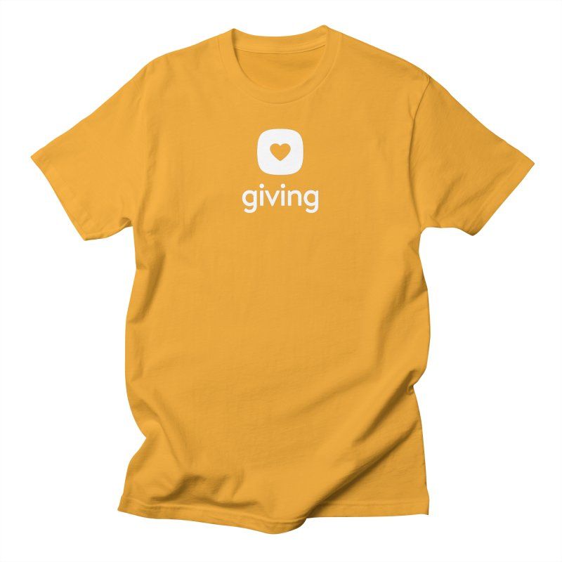 Giving Tee Men's T-Shirt by Planning Center Swag