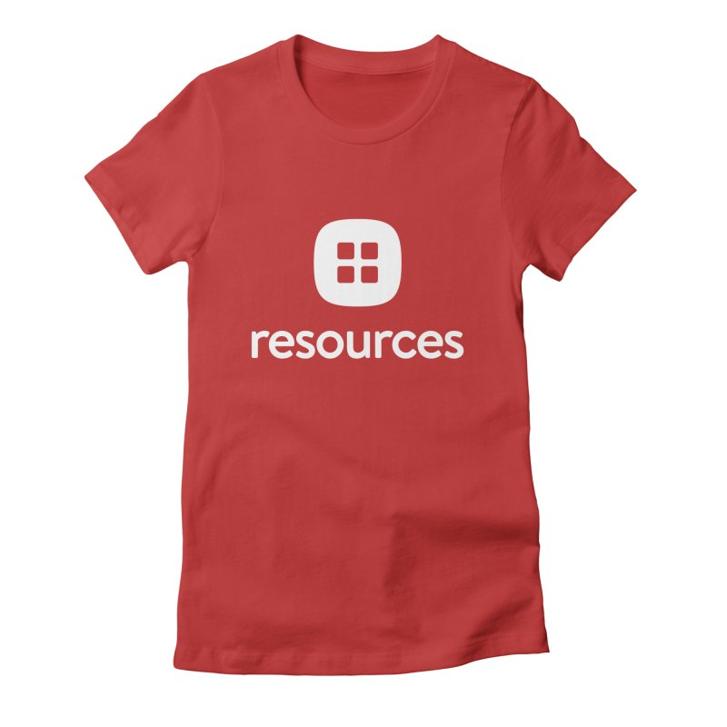 Resources Tee Women's Fitted T-Shirt by Planning Center Swag