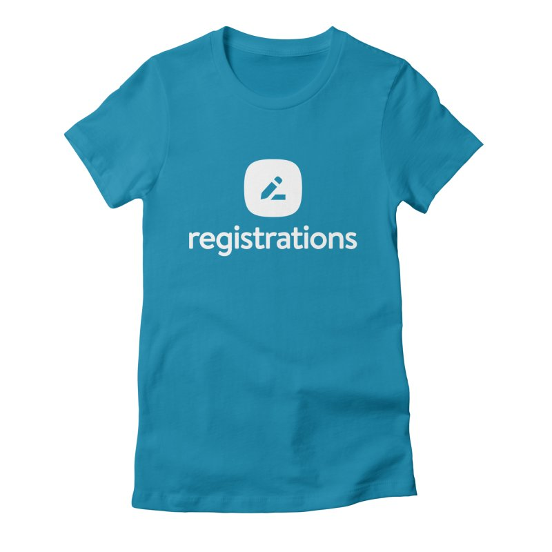 Registrations Tee Women's Fitted T-Shirt by Planning Center Swag