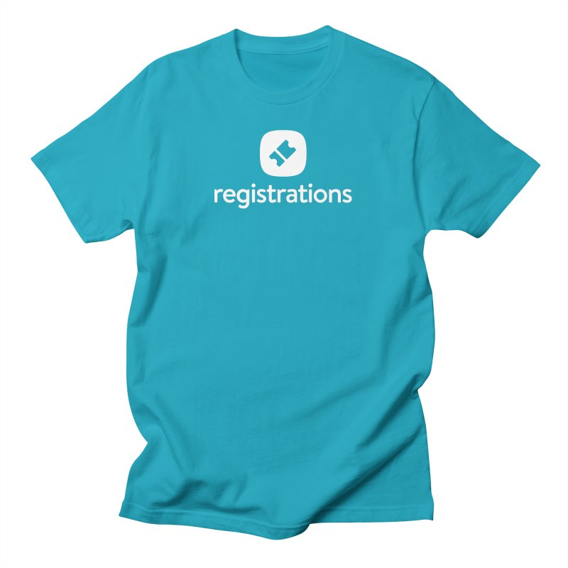 Registrations Tee Men's T-Shirt by Planning Center Swag
