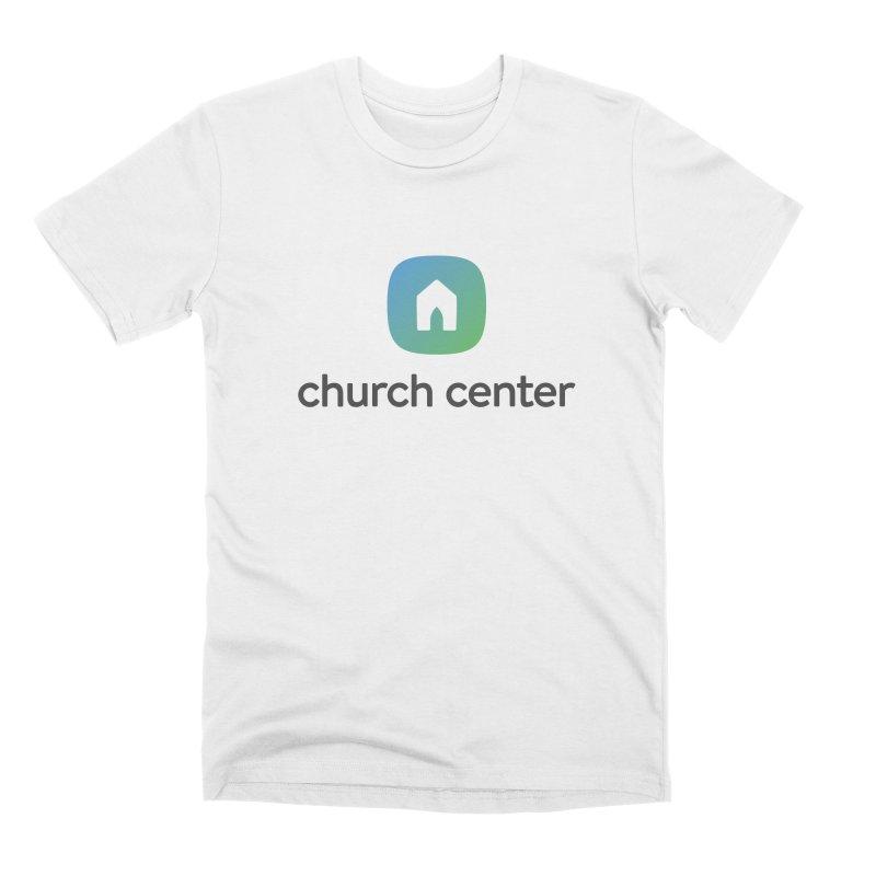 Church Center Tee Men's Premium T-Shirt by Planning Center Swag