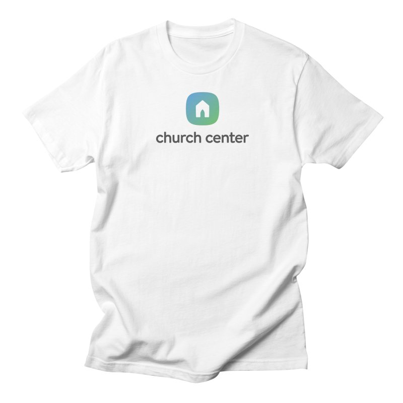 Church Center Tee Men's T-Shirt by Planning Center Swag