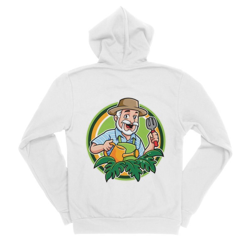 PLANTOPHILES LOGO GARDENER Women's Zip-Up Hoody by Plantophiles's Shop