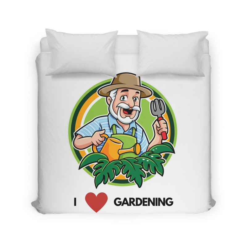 I LOVE GARDENING Home Duvet by Plantophiles's Shop