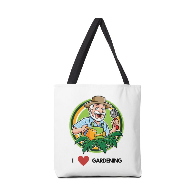 I LOVE GARDENING Accessories Bag by Plantophiles's Shop