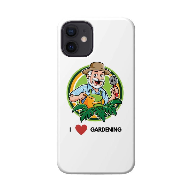 I LOVE GARDENING Accessories Phone Case by Plantophiles's Shop