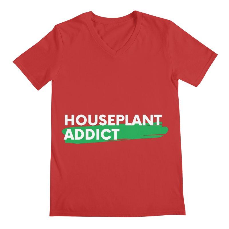 HOUSEPLANT ADDICT Men's V-Neck by Plantophiles's Shop