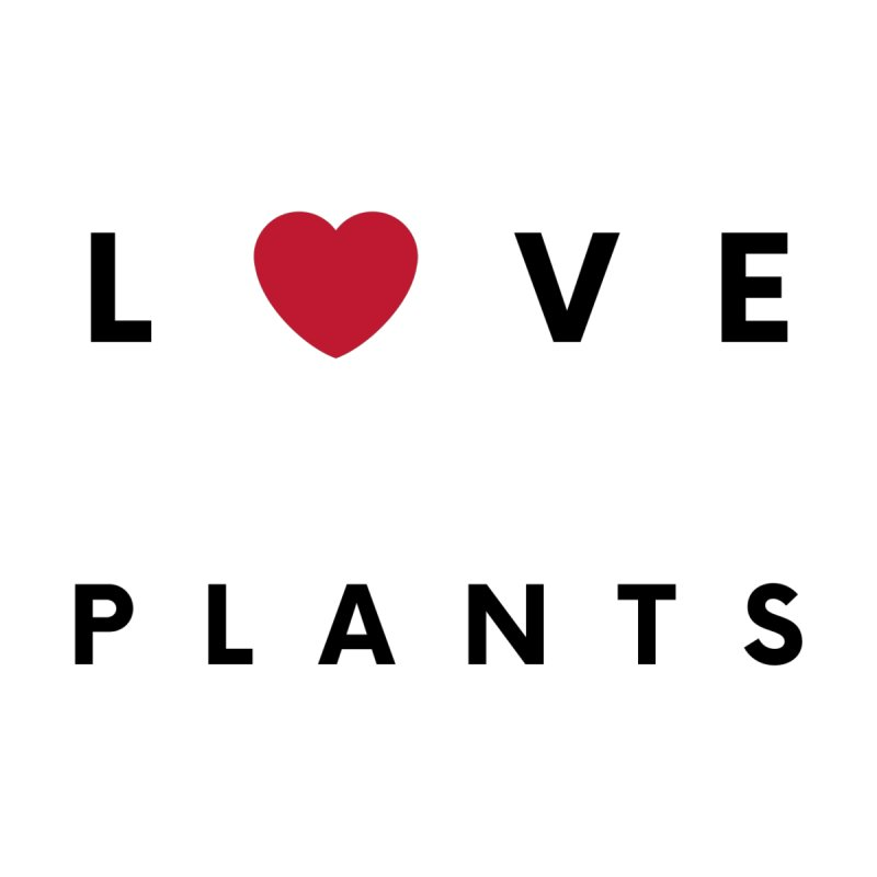 LOVE PLANTS Men's Pullover Hoody by Plantophiles's Shop