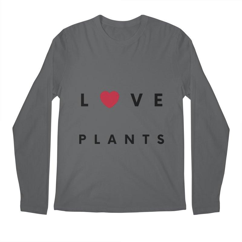 LOVE PLANTS Men's Longsleeve T-Shirt by Plantophiles's Shop