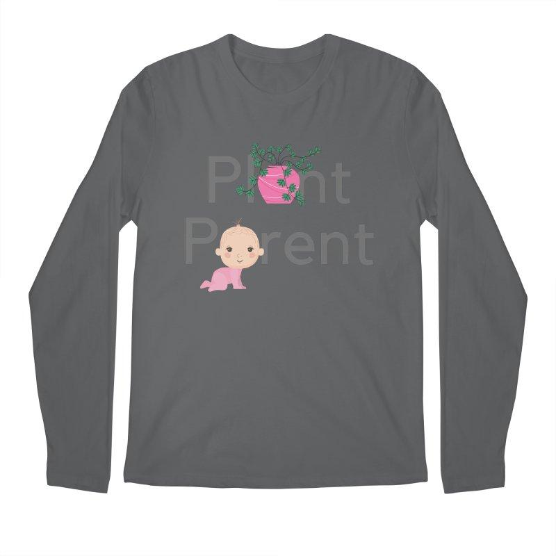 PLANT PARENT Men's Longsleeve T-Shirt by Plantophiles's Shop