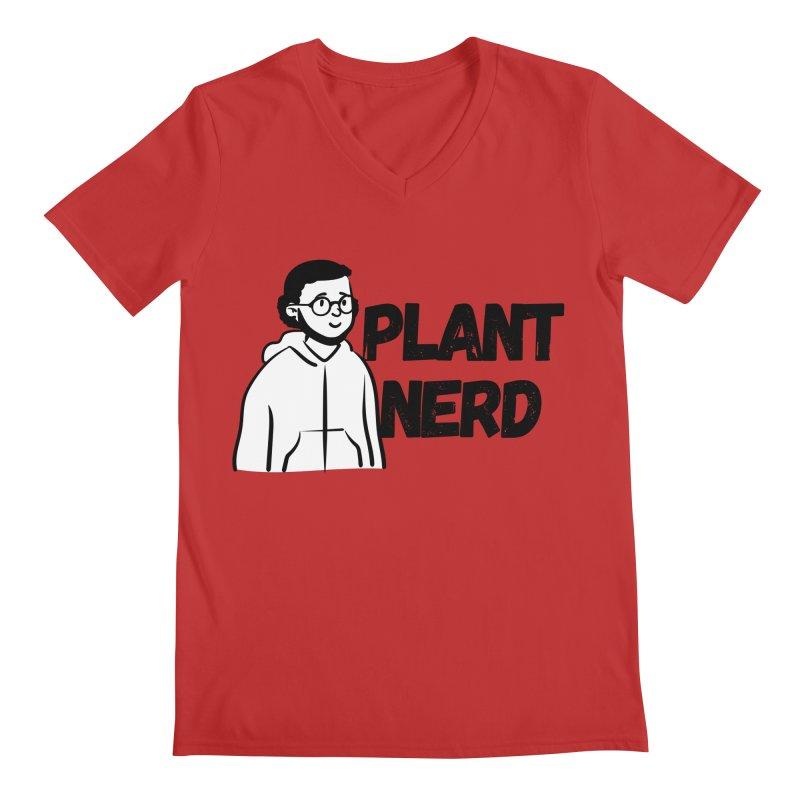 Plant Nerd Men's V-Neck by Plantophiles's Shop